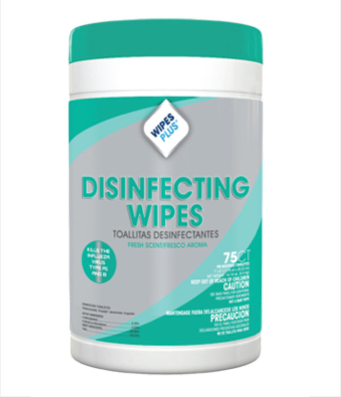 Disinfecting Surface Wipes