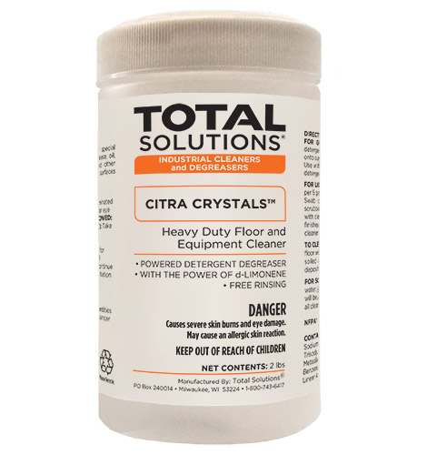 CITRA CRYSTALS Citrus Degreaser
